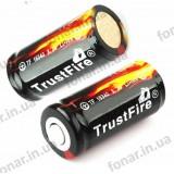 TrustFire CR123 / 16340 880 mAh (защищенный)