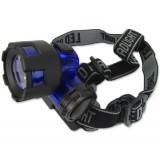 Налобный фонарь 6617(100 люмен,1 режим, 3xAAA)