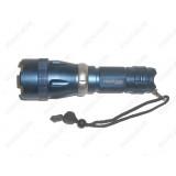 Подводный фонарь Bailong Police BL-8766-T6 15000W(Cree XM-L T6, 700 люмен, 5 режимов, 1x26650/1x18650/4xAAA), комплект