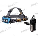 Налобный фонарь Fenix HP40F (2xCree XP-G2 R5, 450 люмен, 4 режима, 18650/CR123A)