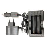 Зарядное устройство Bailong 403 (2 x 18650 / 220V / 12V)