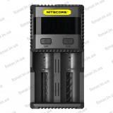 Зарядное устройство Nitecore SC2 (0.5A, 1A, 2A, 3A)